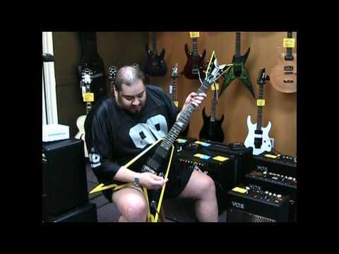 Northwest Guitars in Bellevue WA Demo of Dean Razorback