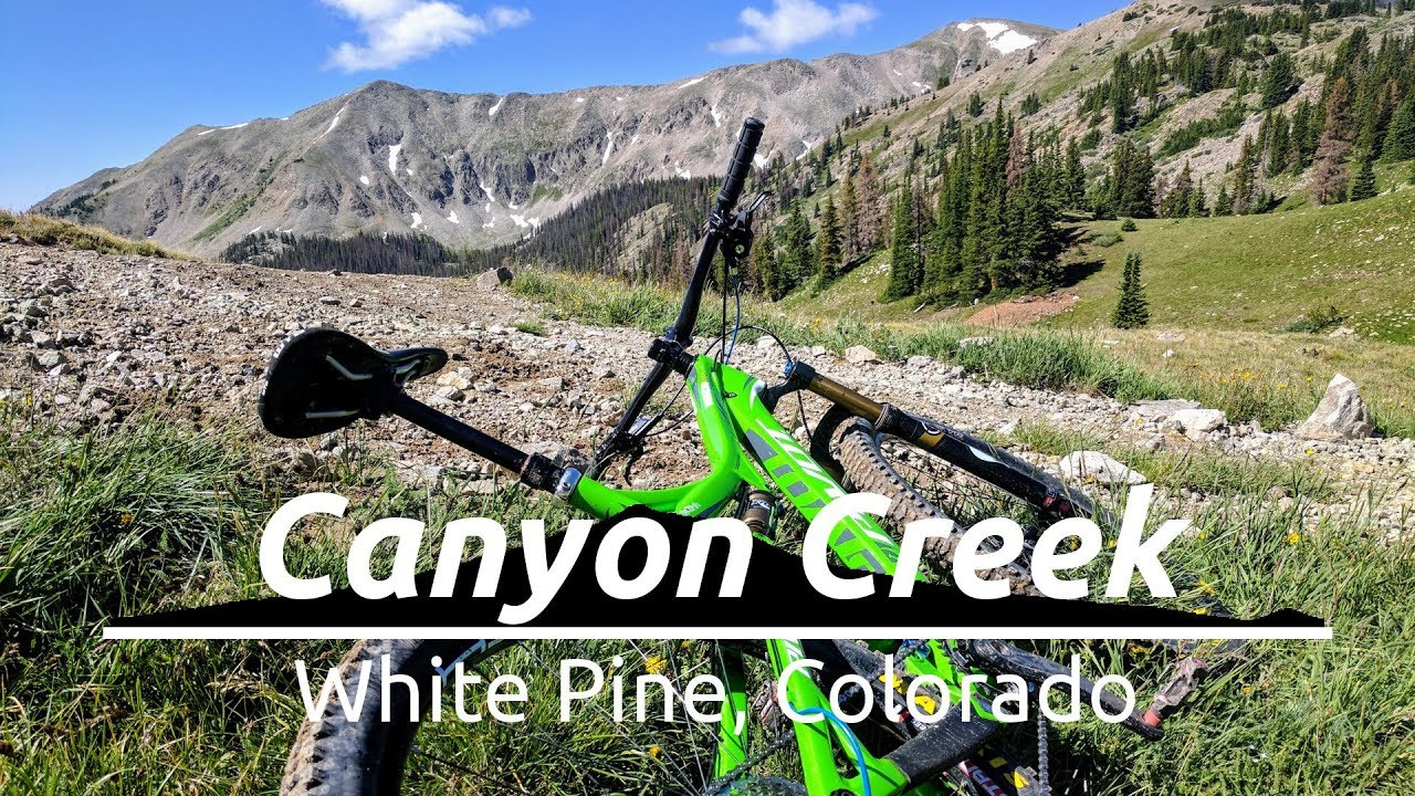 broken saddle mountain mountain biking canyon creek white pine colorado youtube. Black Bedroom Furniture Sets. Home Design Ideas