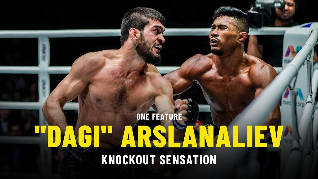 """Dagi"" Arslanaliev Is A Knockout Sensation 