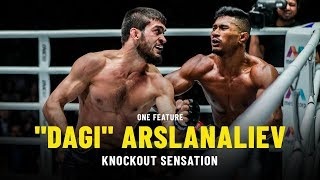 """Dagi"" Arslanaliev Is A Knockout Sensation | ONE Feature"