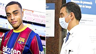 Новичок Барселоны ШОКИРОВАЛ врачей на медосмотре БАРСЕЛОНА подписала Cержиньо Деста
