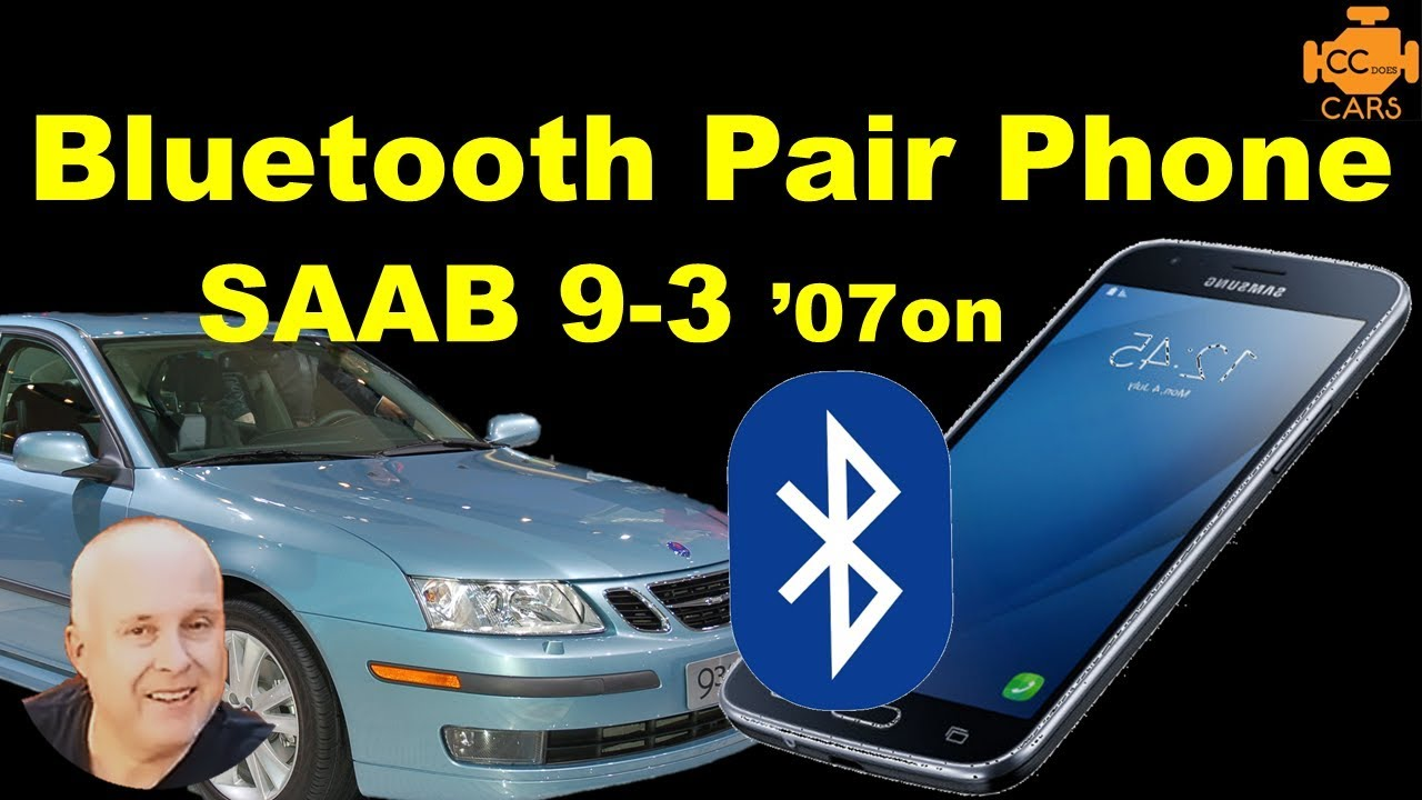 pair phone saab 9 3 93 07on to handsfree bluetooth connect rh youtube com