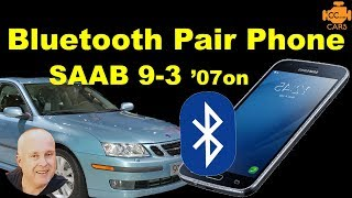 Можна Hands Free | 9-3 Можна Bluetooth | Ви Можете 9-3 2007 Bluetooth