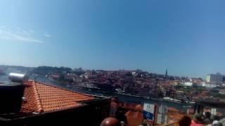 Красивый Вид на Порту из автобуса