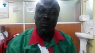 Nyando KNUT official nursing broken arm following arrest by police