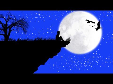 Night Scenary Photoshop Drawing   Digital art using Photoshop