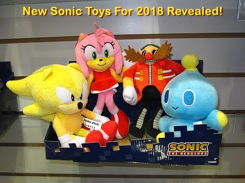 New Sonic Toys For 2018 Revealed!