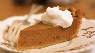 How To Bake Classic Pumpkin Pie With Fresh Whipped Cream   Myrecipes