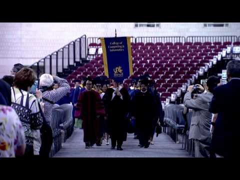 2016 Commencement of Drexel University: College of Computing and Informatics