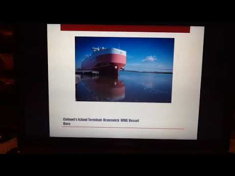 Tsu Georgia port authority maritime project