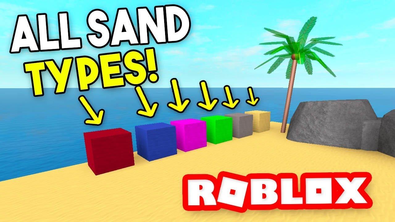 Roblox Treasure Hunt Simulator Videos - All Sand Types Treasure Hunt Simulator Roblox