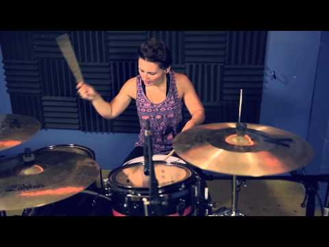 Kortney Grinwis - Favorite Weapon - Let's Shake On It (Drum Play-Through)