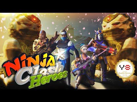 Ninja Clash Heroes ★ Gameplay ★ [Y8 Games]