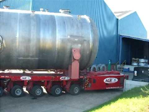 150T - 20m x 4.5m Duplex Stainless Steel Pressure Vessel - www.metalcraft.co.uk