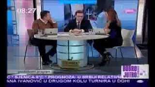 Borislav Stefanović: Većina medija pod kontrolom jednog čoveka (12.2.2014)