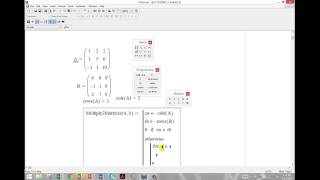 Programming in Mathcad