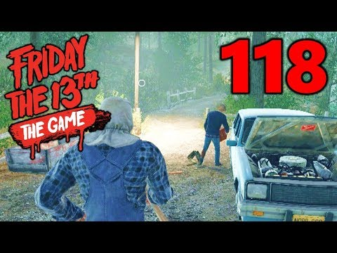 [118] Don't Touch That Car! (Let's Play Friday The 13th The Game)