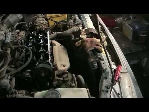Как отрегулировать клапана на моторе 5е, и как правильно натягивать ремень грм.