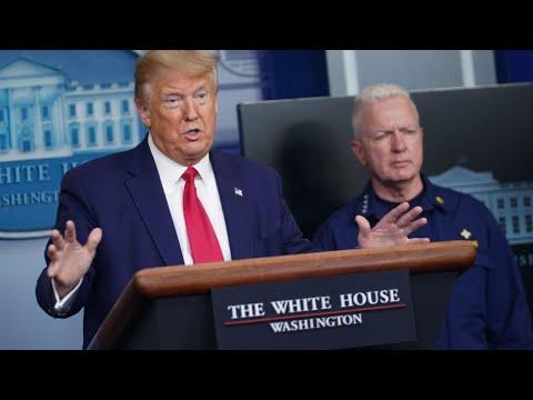 President Donald Trump And White House Coronavirus Task Force Daily Press Briefing   FULL — 4/6/2020