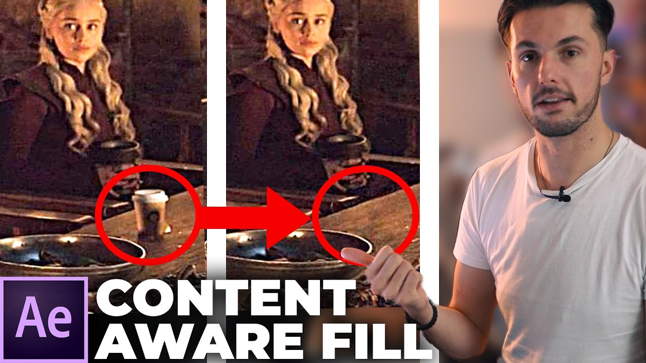 How To Use the Content Aware Fill Tool (After Effects Tutorial)