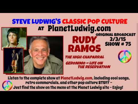 RUDY RAMOS INTERVIEW ~ Steve Ludwig's Classic Pop Culture at PlanetLudwig.com