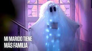 Mi Marido tiene más Familia | Julieta, Robert y Pancho López son asustados por un fantasma