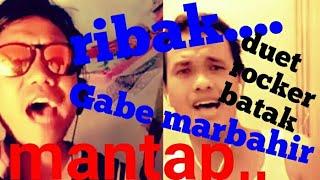 Gambar cover iNI DUET batak seru,,GABE MARBAHIR, ,mirip penyanyi aslinya,,, 👍👍👍👍