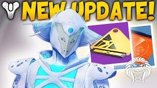 Destiny 2: NEW UPDATE & TRIALS BROKEN! Future Rewards, Seasonal Events & Loot Changes