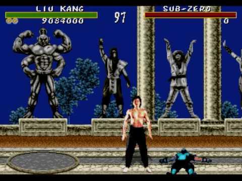 Finishing Moves of Mortal Kombat