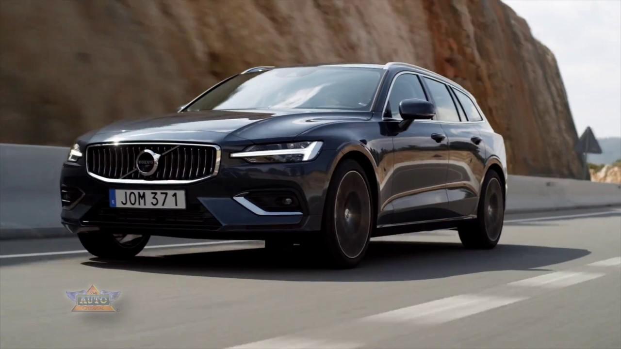 2019 Volvo V60 Inscription Denim Blue
