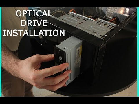 OPTICAL DRIVE INSTALLATION- (DVD/CD Player)