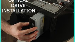 OPTICAL DRIVE INSTALLATION- (DVD/CD Player)