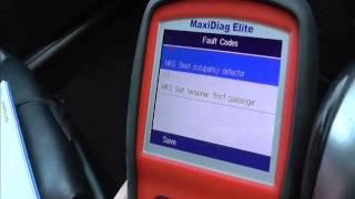 Saab SRS Airbag Light MOT FAIL How To Fix