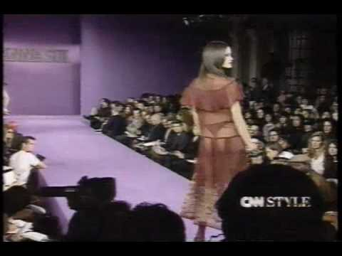 Anna Sui Spring 93  grunge fashion