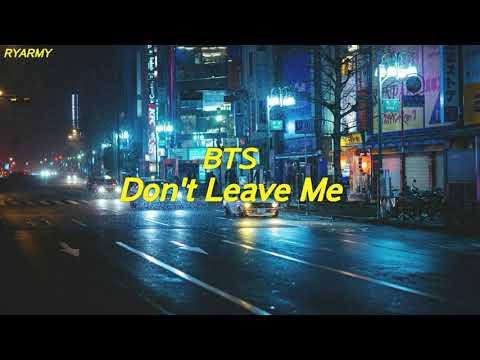 BTS - Don't Leave Me [Indo Lirik]