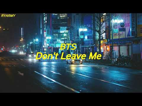 Free Download Bts - Don't Leave Me [indo Lirik] Mp3 dan Mp4