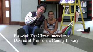 Boswick Interview with Desiree at the Tulare County Library (Visalia, California)