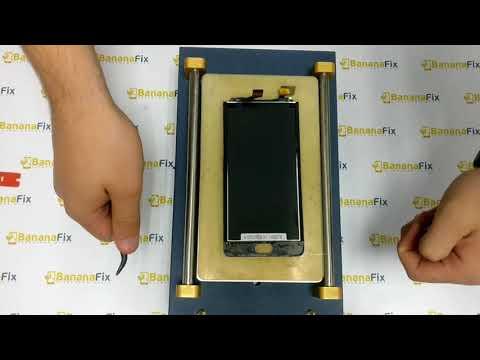 Ремонт Meizu M6 Note: замена стекла (тачскрина) дисплея - разборка - BananaFix