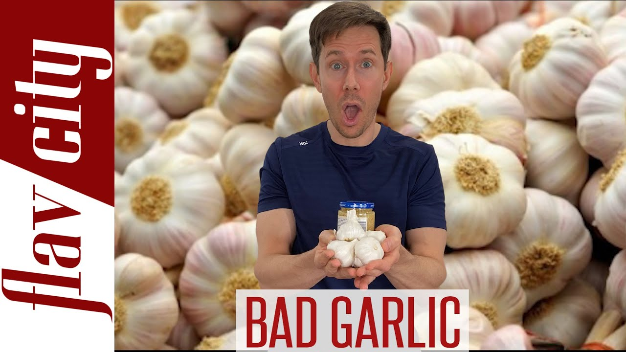 You're Buying Garlic That Is Bleached, Grown In Sewer Water, And From CHINA!