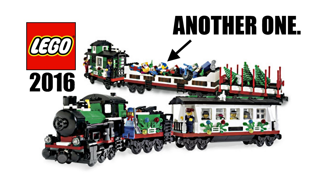 New LEGO Holiday Train set coming in 2016?! - YouTube
