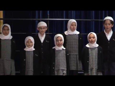 Minaret Academy Quran Presentation Fourth Grade 2016