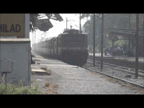 High Speeding Superfast Express Trains of Indian Railways Coverage !!!!