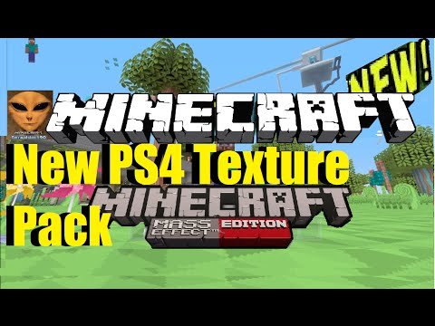 Minecraft : 2 NEW PS4 Texture Pack's - OUT NOW! Episode 157