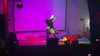 Evento Sombra Friky Fest en la ciudad de Punta Alta. Primer puesto categoria Mejor Cosplay.