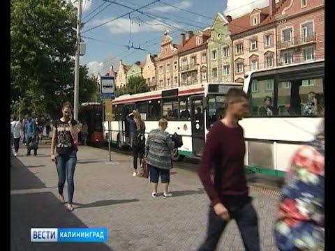 Калининградские автобусы переведут на электронную оплату проезда в течение двух недель