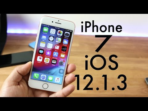 ios 12 1 3 official on iphone 7 review youtube. Black Bedroom Furniture Sets. Home Design Ideas