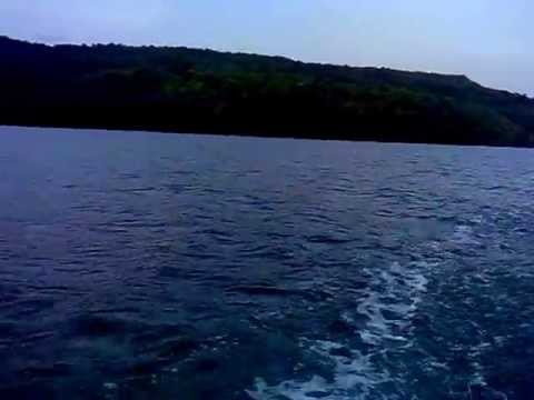 Boat ride in Dabhol creek, Dapoli