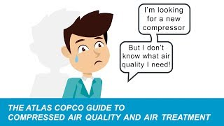 Understanding compressed air quality and compressed air treatment