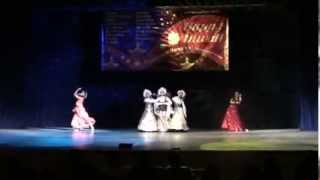 Show ballet AMRAPALI Russia -Leena Goel -Russian-Indian fusion dance Diwali mela Moscow 2013