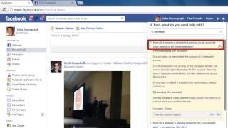 كيفية إنشاء Facebook التذكاري الصفحة
